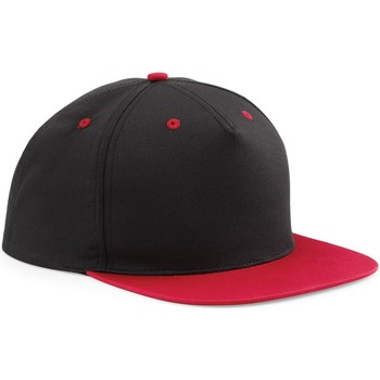 Asusteet / tarvikkeet Lippalakit Beechfield B610C Black/ Classic Red