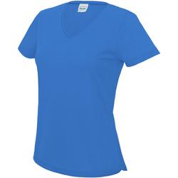 vaatteet Naiset Lyhythihainen t-paita Awdis JC006 Sapphire Blue