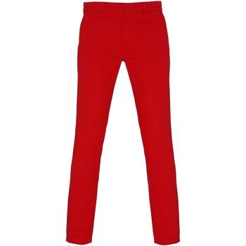 vaatteet Naiset Chino-housut / Porkkanahousut Asquith & Fox Chino Cherry Red