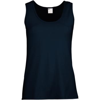 vaatteet Naiset Hihattomat paidat / Hihattomat t-paidat Universal Textiles Fitted Midnight Blue