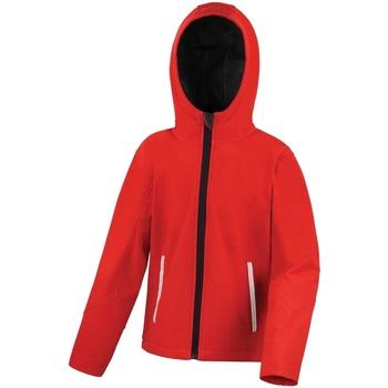 vaatteet Lapset Tuulitakit Result R224JY Red/Black