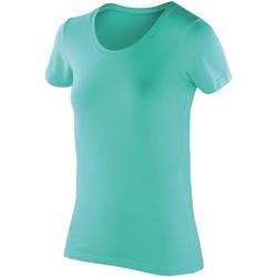 vaatteet Naiset Lyhythihainen t-paita Spiro SR280F Peppermint