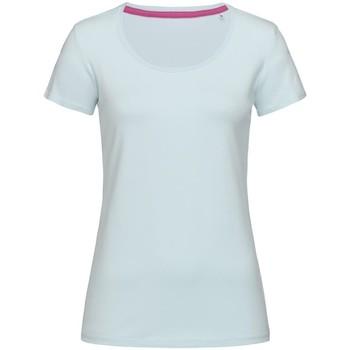 vaatteet Naiset Lyhythihainen t-paita Stedman Stars  Powder Blue