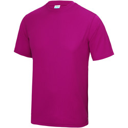 vaatteet Lapset Lyhythihainen t-paita Awdis JC01J Hot Pink