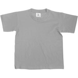 vaatteet Lapset Lyhythihainen t-paita B And C TK300 Sport Grey