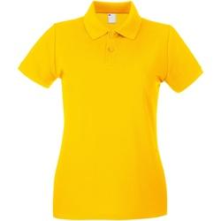 vaatteet Naiset Lyhythihainen poolopaita Universal Textiles 63030 Gold