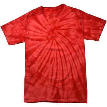 vaatteet Lapset Lyhythihainen t-paita Colortone Spider Spider Red