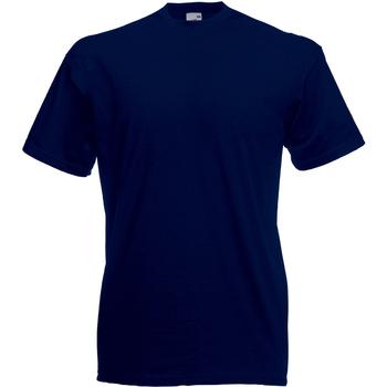 vaatteet Miehet Lyhythihainen t-paita Universal Textiles 61036 Midnight Blue