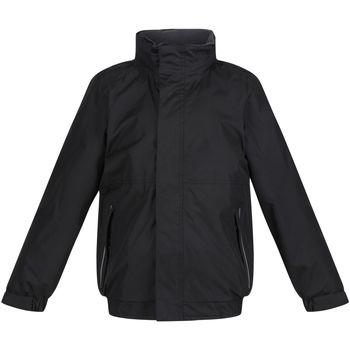 vaatteet Lapset Tuulitakit Regatta TRW418 Black/Ash