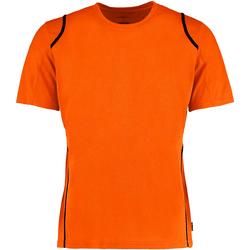 vaatteet Miehet Lyhythihainen t-paita Gamegear Cooltex Fluorescent Orange/Black