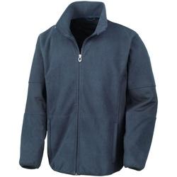 vaatteet Miehet Fleecet Result Osaka Navy Blue