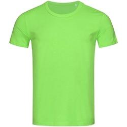 vaatteet Miehet Lyhythihainen t-paita Stedman Stars Stars Green Flash