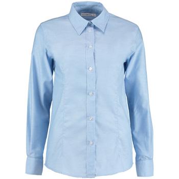 vaatteet Naiset Paitapusero / Kauluspaita Kustom Kit KK361 Light Blue