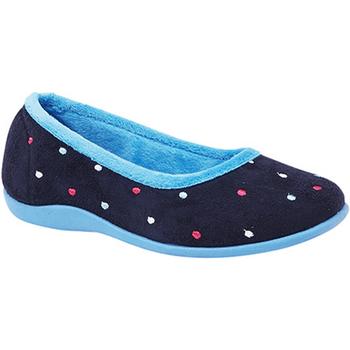 kengät Naiset Tossut Sleepers  Blue/Turquoise