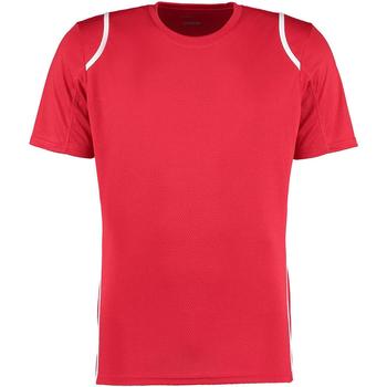 vaatteet Miehet Lyhythihainen t-paita Gamegear Cooltex Red/White