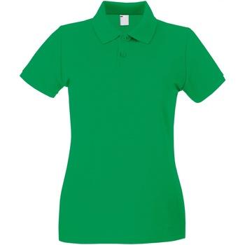 vaatteet Naiset Lyhythihainen poolopaita Universal Textiles 63030 Bright Green