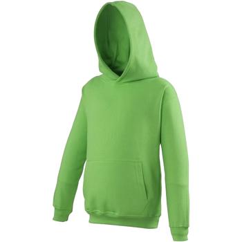 vaatteet Lapset Svetari Awdis JH01J Lime Green