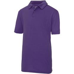 vaatteet Lapset Lyhythihainen poolopaita Just Cool  Purple