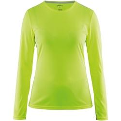 vaatteet Naiset T-paidat pitkillä hihoilla Craft CT89F Flumino