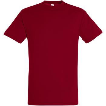 vaatteet Miehet Lyhythihainen t-paita Sols 11380 Tango Red