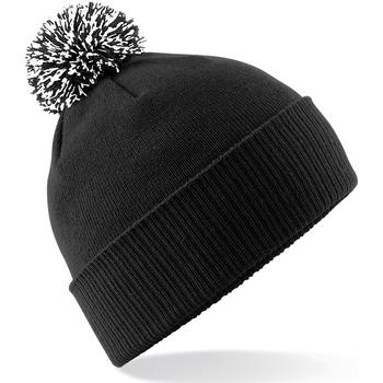 Asusteet / tarvikkeet Tytöt Pipot Beechfield Snowstar Black/White