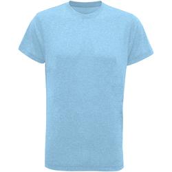 vaatteet Miehet Lyhythihainen t-paita Tridri TR010 Turquoise Melange