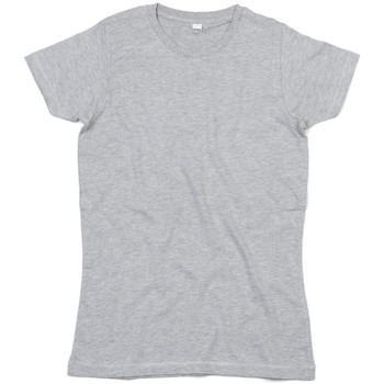vaatteet Naiset Lyhythihainen t-paita Mantis M69 Heather Grey Melange