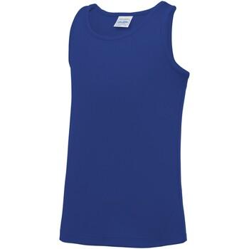 vaatteet Lapset Hihattomat paidat / Hihattomat t-paidat Awdis JC07J Royal Blue