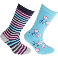 Asusteet / tarvikkeet Lapset Sukat Floso Welly Blue/Pink