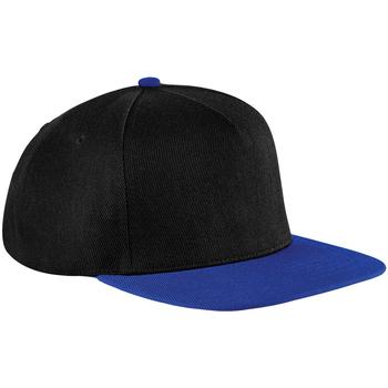Asusteet / tarvikkeet Lippalakit Beechfield B660 Black/Royal Blue