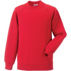 vaatteet Lapset Svetari Jerzees Schoolgear 7620B Bright Red