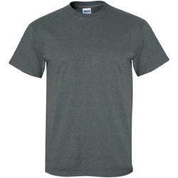 vaatteet Miehet Lyhythihainen t-paita Gildan Ultra Dark Heather