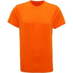 vaatteet Miehet Lyhythihainen t-paita Tridri TR010 Orange