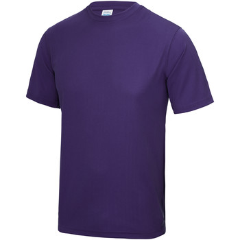 vaatteet Lapset Lyhythihainen t-paita Awdis JC01J Purple