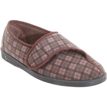 kengät Miehet Tossut Comfylux  Dark Brown