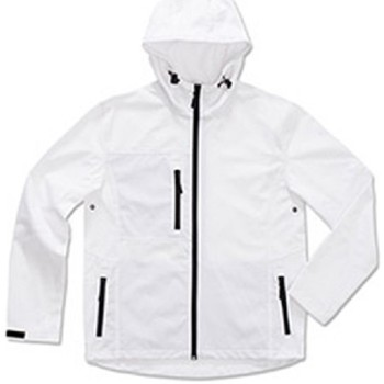 vaatteet Miehet Tuulitakit Stedman  White