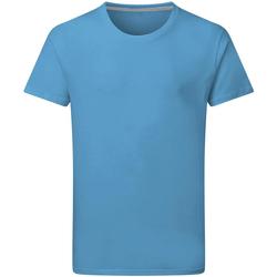 vaatteet Miehet Lyhythihainen t-paita Sg Perfect Turquoise