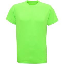 vaatteet Miehet Lyhythihainen t-paita Tridri TR010 Lightning Green