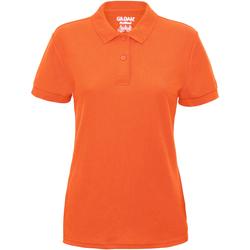 vaatteet Naiset Lyhythihainen poolopaita Gildan 75800L Safety Orange