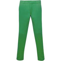 vaatteet Naiset Chino-housut / Porkkanahousut Asquith & Fox Chino Kelly Green