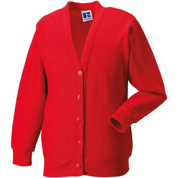 vaatteet Lapset Neuleet / Villatakit Jerzees Schoolgear 273B Bright Red