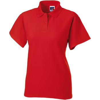 vaatteet Naiset Lyhythihainen poolopaita Jerzees Colours 539F Bright Red