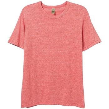 vaatteet Miehet Lyhythihainen t-paita Alternative Apparel AT001 Eco Red