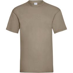 vaatteet Miehet Lyhythihainen t-paita Universal Textiles 61036 Sand