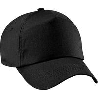 Asusteet / tarvikkeet Tytöt Lippalakit Beechfield B10B Black