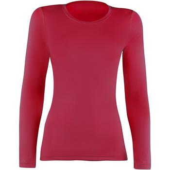 vaatteet Naiset T-paidat pitkillä hihoilla Rhino  Red