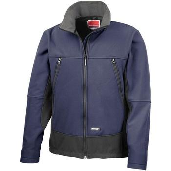 vaatteet Miehet Fleecet Result R120X Navy/Black