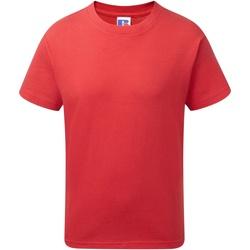 vaatteet Pojat Lyhythihainen t-paita Jerzees Schoolgear J155B Classic Red