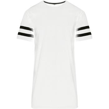 vaatteet Miehet Lyhythihainen t-paita Build Your Brand BY032 White/Black