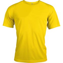 vaatteet Miehet Lyhythihainen t-paita Kariban Proact PA438 True Yellow